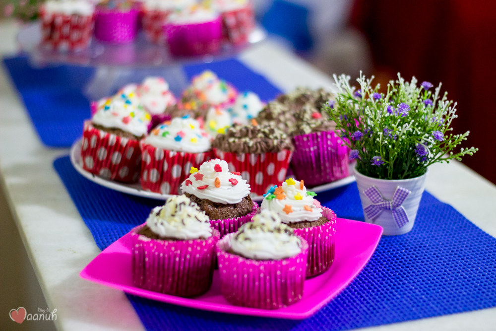 receita cupcake chocolate