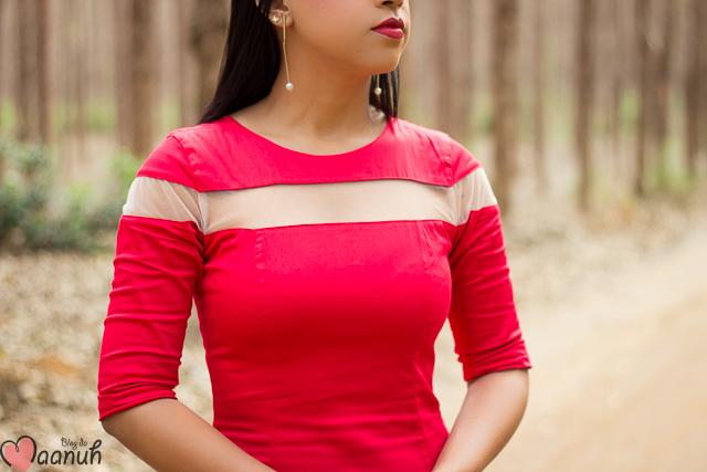 vestido MIDI vermelho-14
