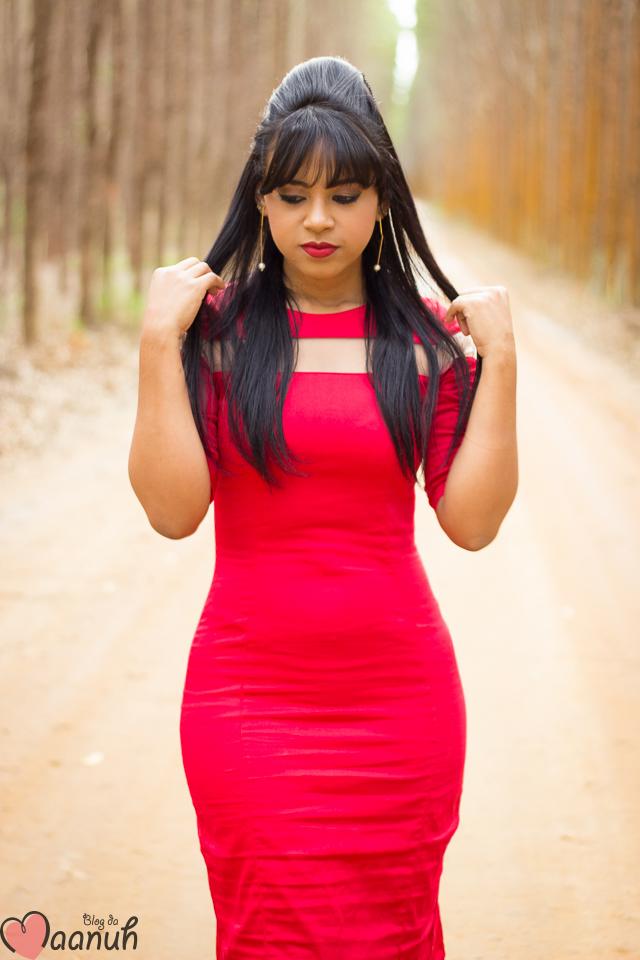 vestido MIDI vermelho-22