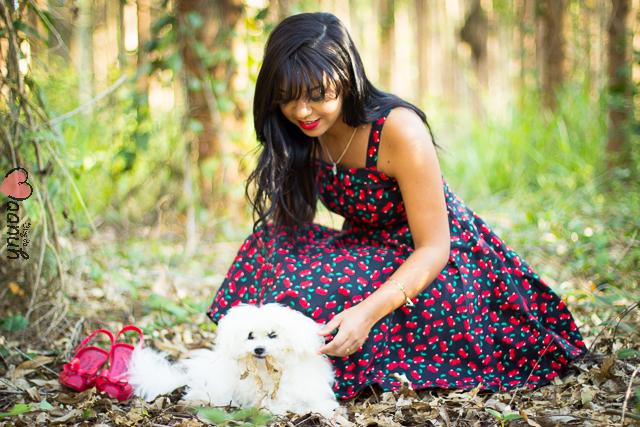 vestido cereja MAANUH-25