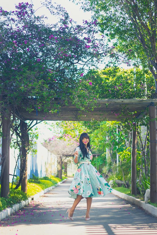 vestido midi verde-6